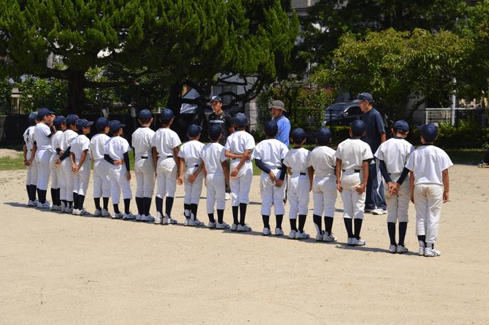 F小学校野球部 集合